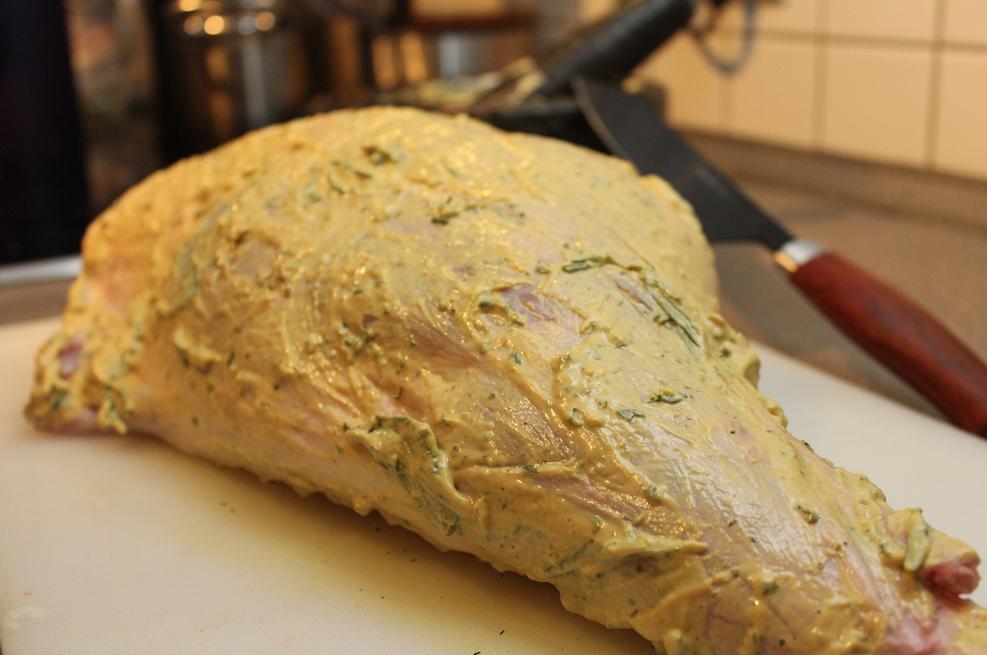 Lammkeule Im Ofen Geschmort Leckerer Braten Zu Ostern