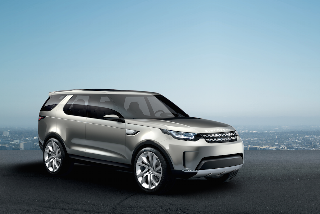land rover discovery concept studie als hightech vision zum staunen. Black Bedroom Furniture Sets. Home Design Ideas