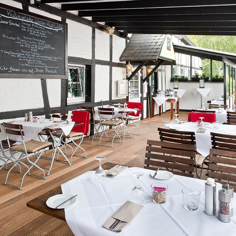 Restaurant Reinhardt - Terrasse