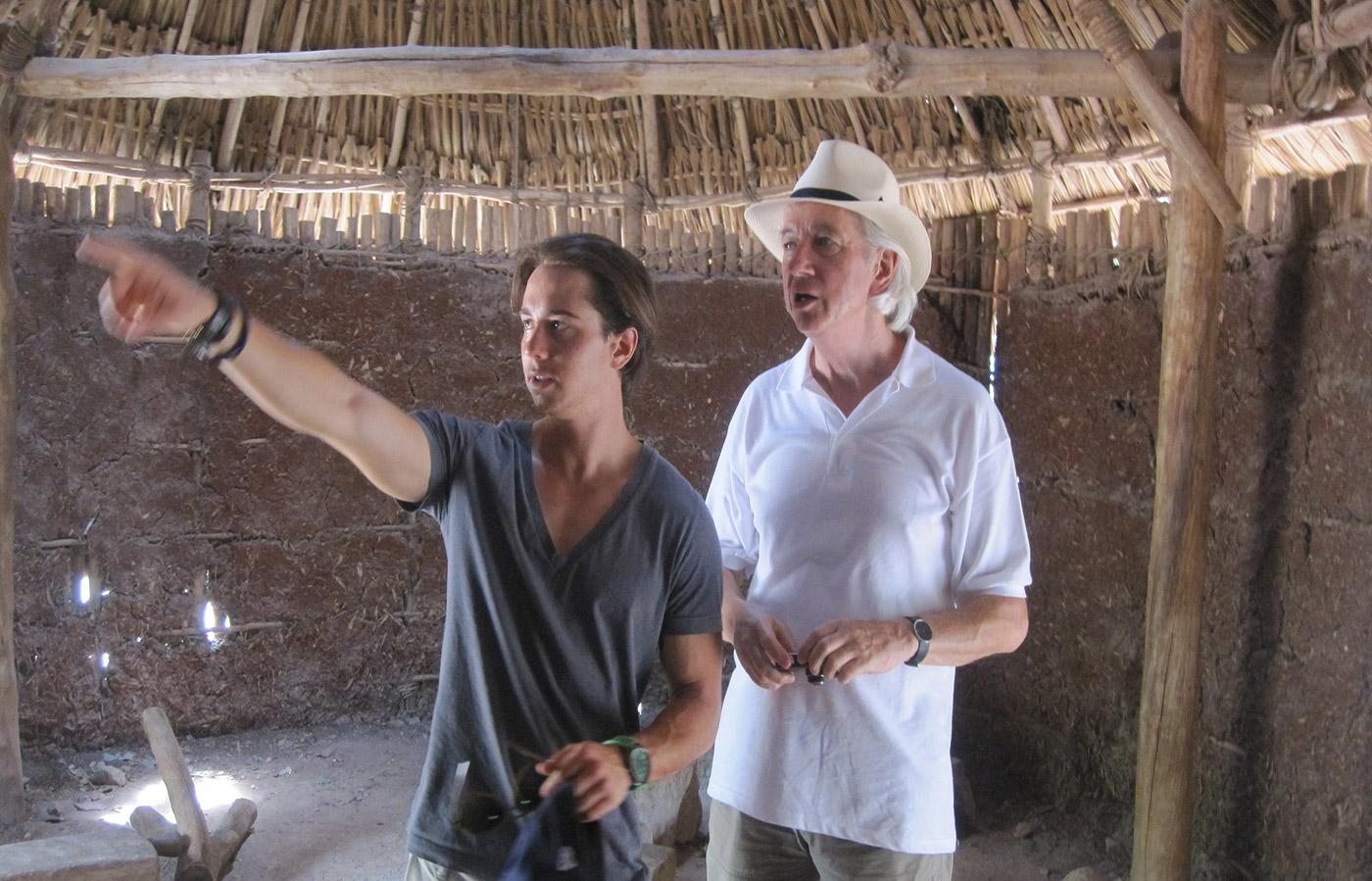 Besichtigt die Feriengebiete persönlich, bevor er sie seinen Kunden empfiehlt: Till Brunecker auf Scout-Tour in Mexico