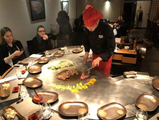 Drei Am Heißen Tisch Hotel Nikko Engagiert Topköche Für Sein
